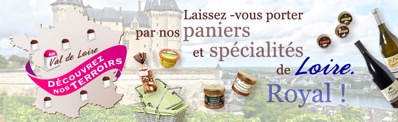 Paniers gourmands de Loire