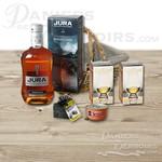 Coffret de Whisky des îles d'Ecosse 2 verres