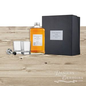 Coffret Whisky Japonais Nikka From The Barrel 2 verres